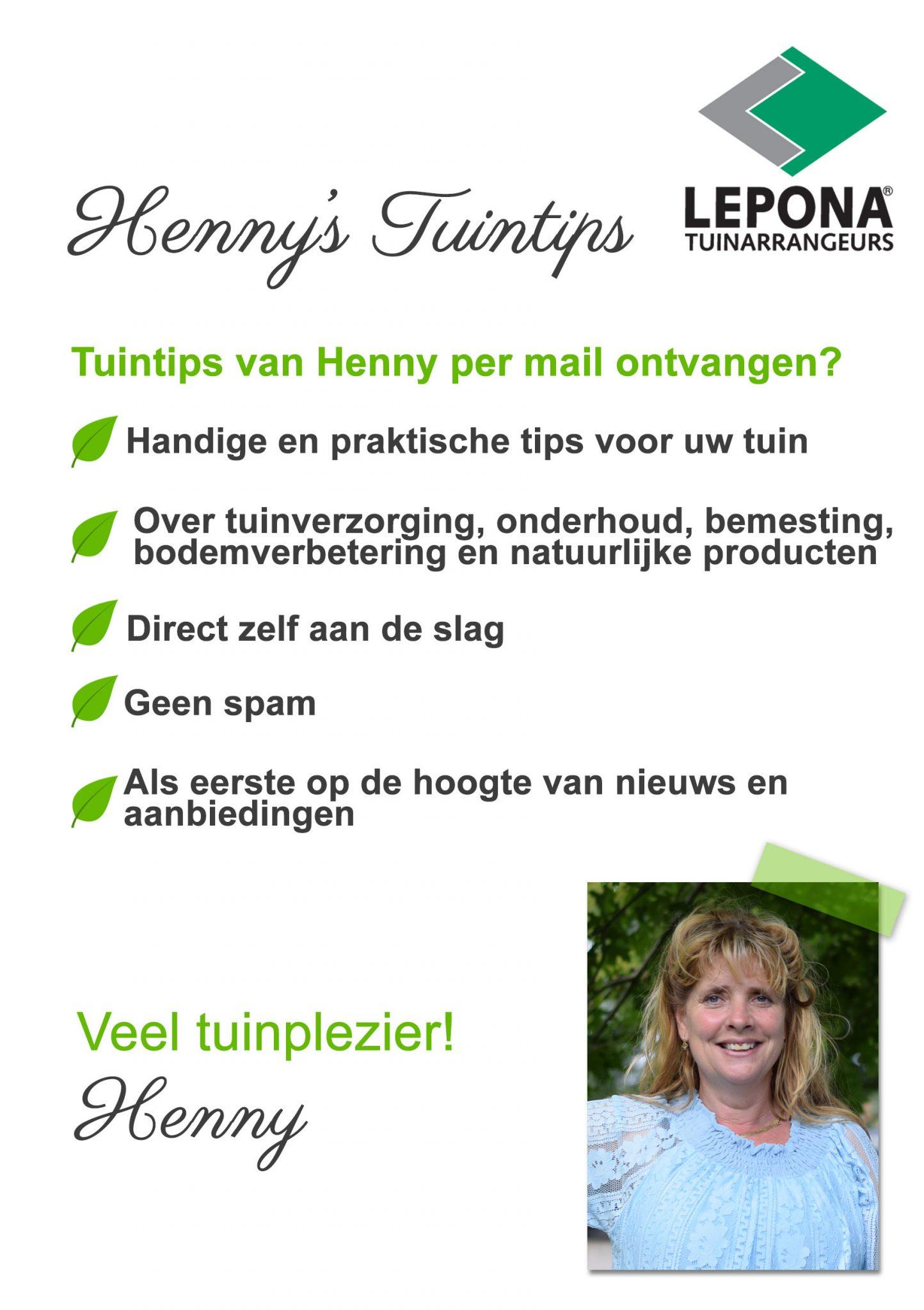 Henny's Tuintips